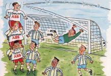Kartun Gol Sepak Bola