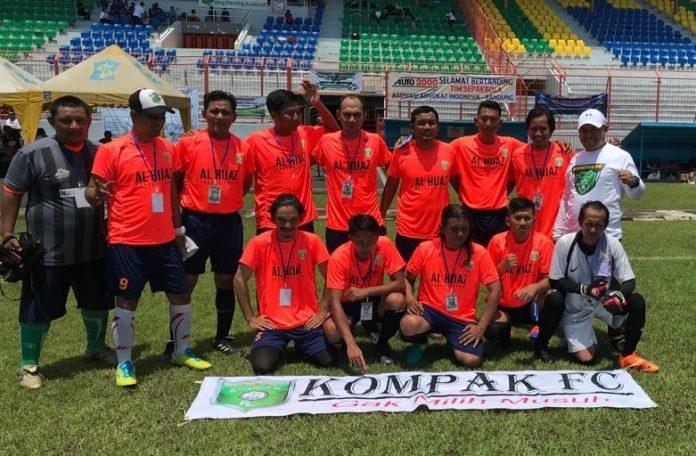 Tim Kompak FC Sebelum Bertanding